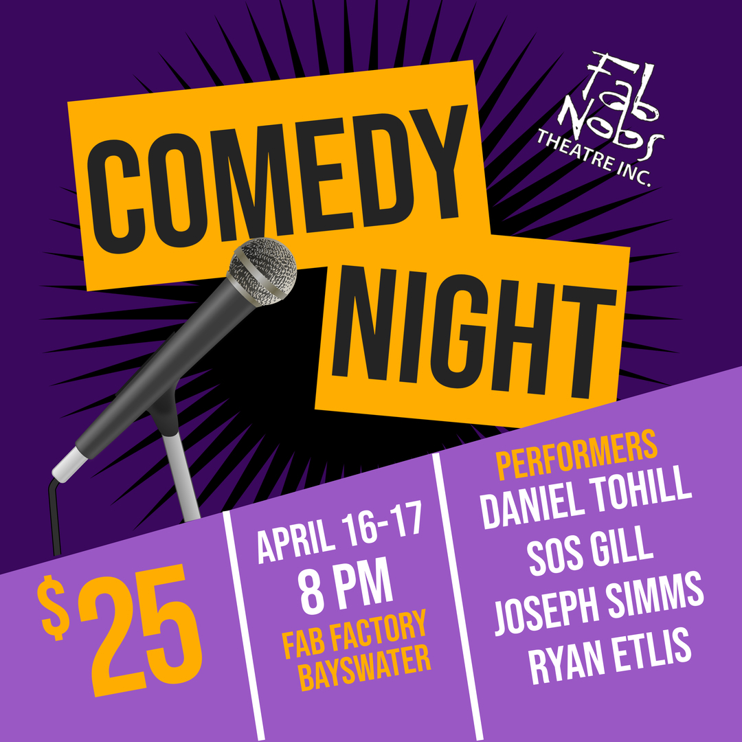Comedy Night – For Sale
